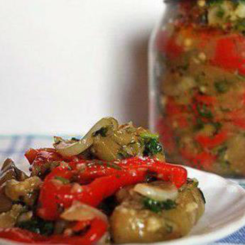 Салат из баклажанов на зиму рецепт отзывы