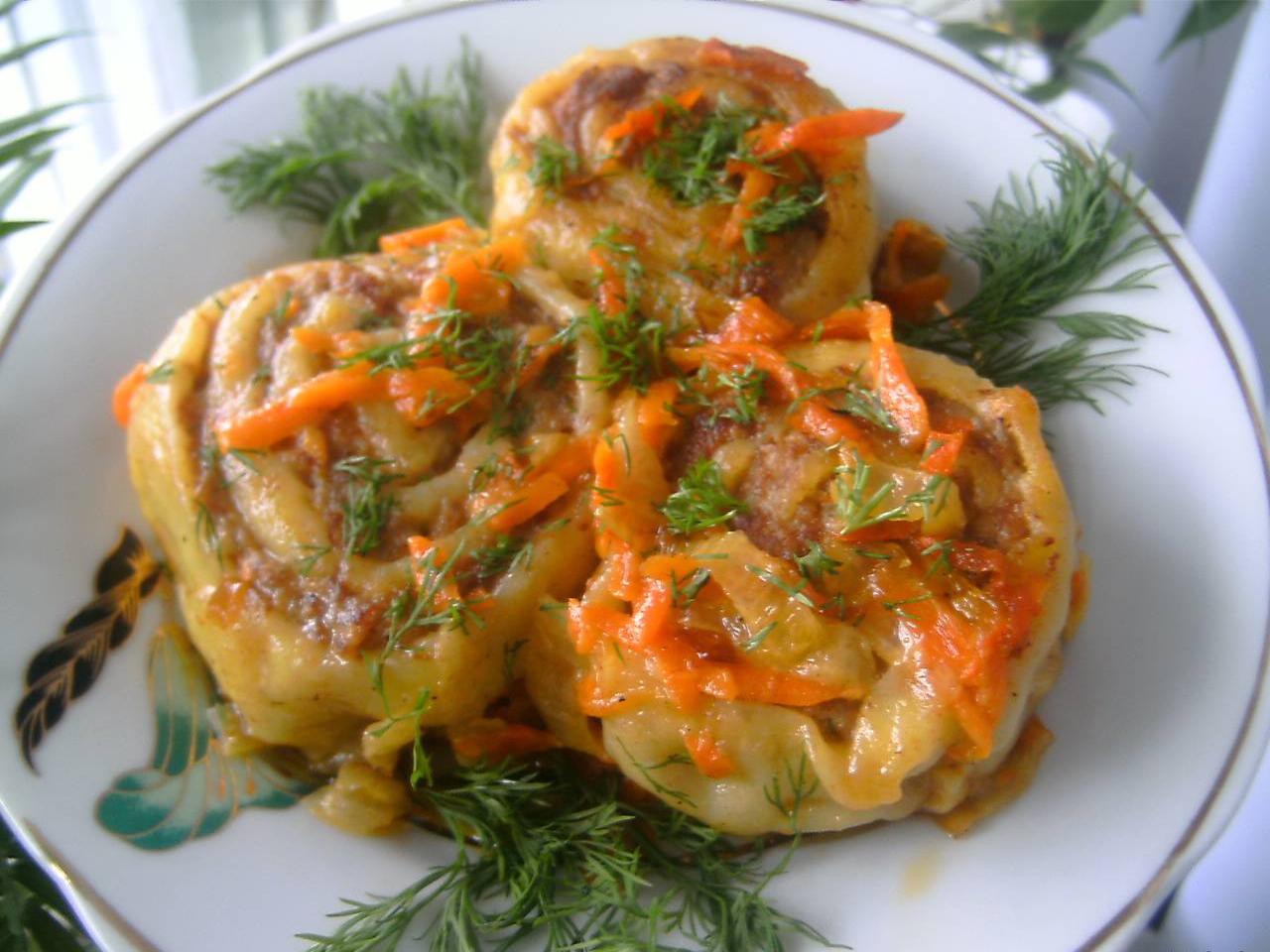 Блюда с фаршем пошаговый рецепт с