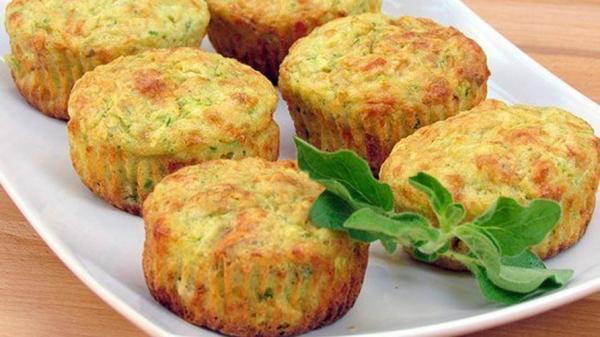 овощные маффины рецепт с фото