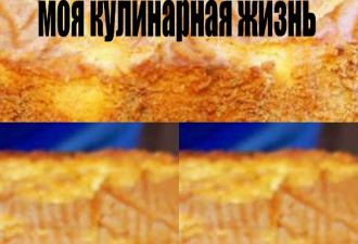 Базовый бисквит для торта, с этого начиналась моя кулинарная жизнь